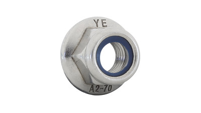 Stainless Flanged Nyloc Nut