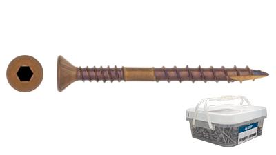 Stainless Bronze Csk Socket Decking Screw