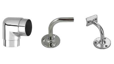 Stainless Architectural Handrail Fittings