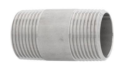Stainless BSP Barrel Nipple