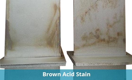 Bowmac Brackets Acid Stain