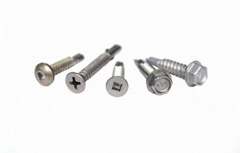 Stainless Steel Self Drilling (Tek) Screws - Hard Enough?