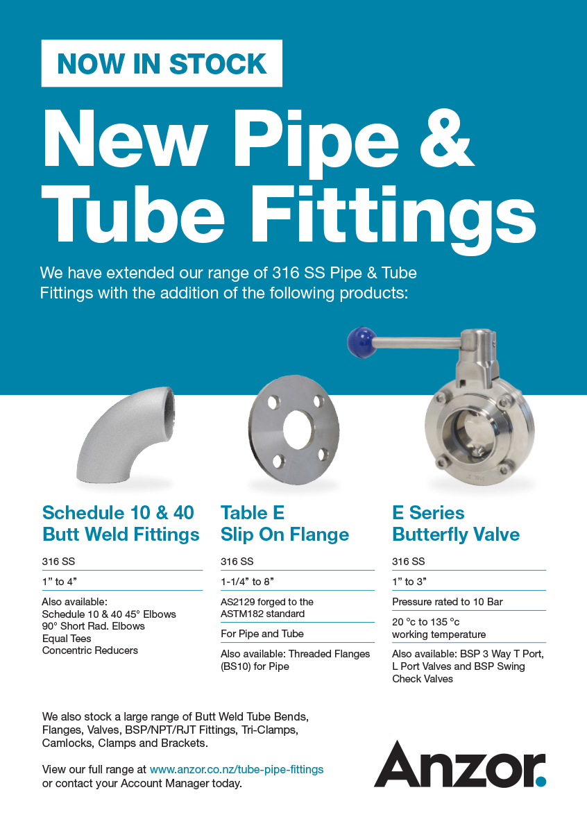 New Pipe And Tube Fittings. Edm. Ps V2