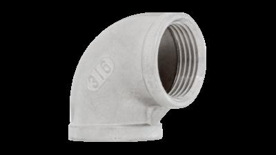 Stainless Steel Bsp 90 Elbow 316
