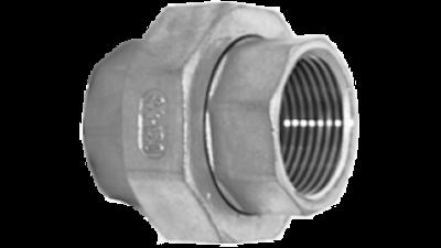 Stainless Steel Bsp Mac Union 316