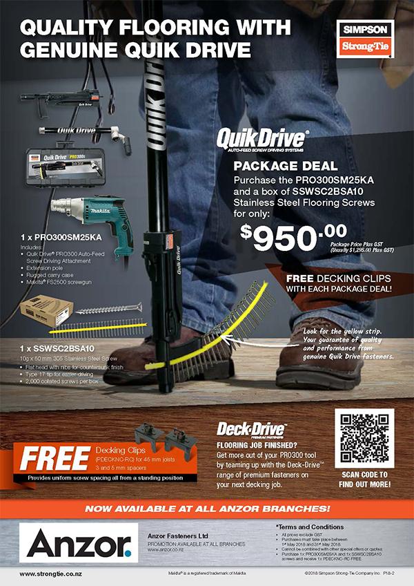 Quik Drive Flyer Website