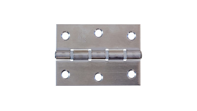 Stainless Butt Hinge with Nylon Rings