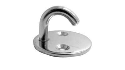 Stainless Round Eye Pad with Hook