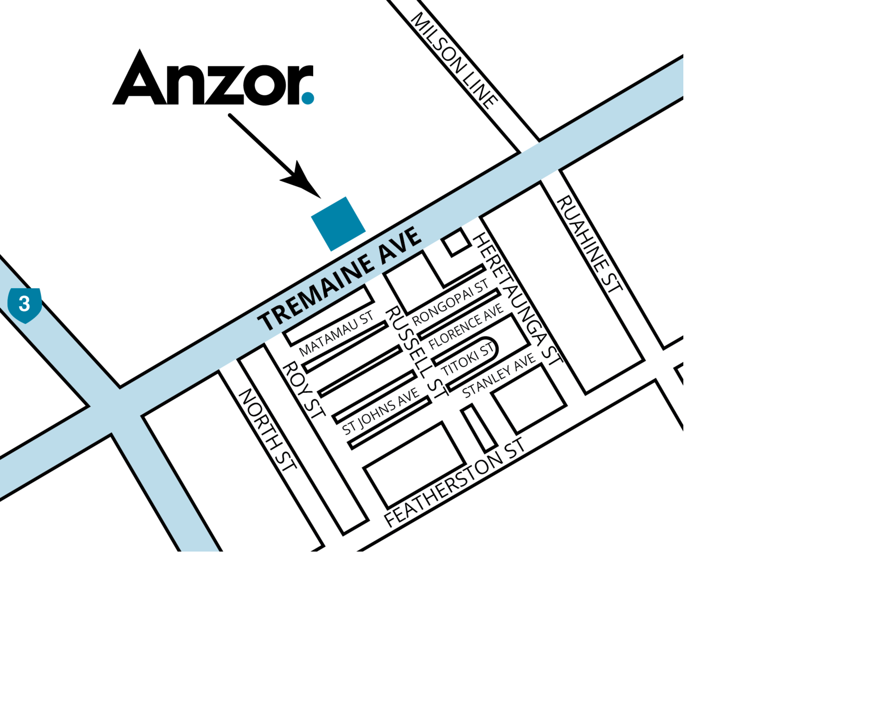 Palmerston North Map 2019 Cropped
