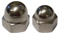 Stainless Steel Dome Nuts P