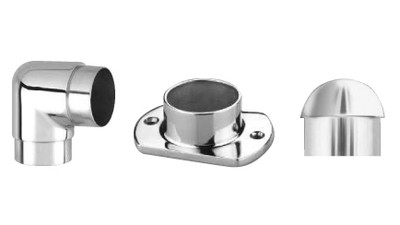 Stainless Architectural Tube Connector Fittings