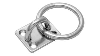 S320 Rectangular Eye Pad With Ring
