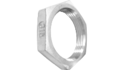 Stainless Steel Bsp Back Nut 316 P