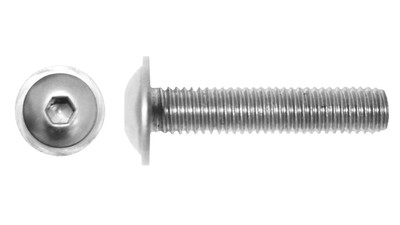 Flanged Button Socked Screws