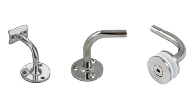 Stainless Architectural Handrail Wall Support Fittings