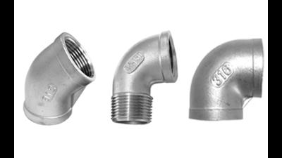 Stainless Steel Bsp Elbows 316